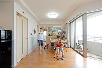 神戸市中央区 H様(マンション ご夫婦2人+お子様1人)